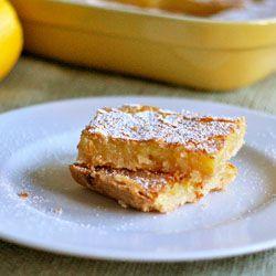 Classic lemon bars | Desserts | Pinterest