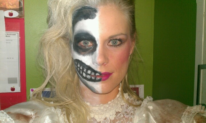 The gallery for --> Zombie Bride Makeup Ideas For Kids