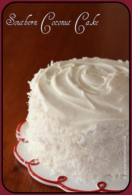 southern coconut cake~ for when we really have something to celebrate.