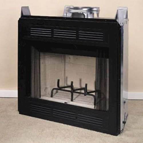 Wood burning firebox wood free engine image for user for Wood stove insert for prefab fireplace
