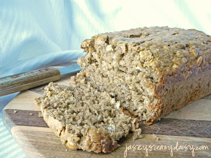 Banana Oatmeal Bread | Breakfast | Pinterest