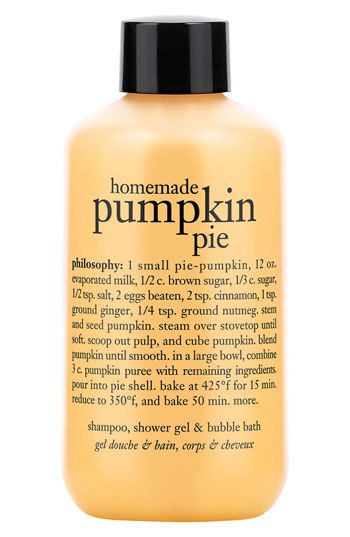 EVERY scent is AWESOME!   philosophy 'homemade pumpkin pie' shampoo, shower gel & bubble bath (Buy & Save) available at #Nordstrom