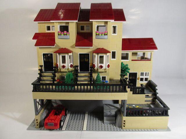Lego House Lego Pinterest