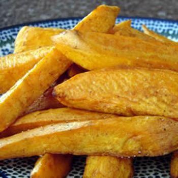Baked Sweet Potato Sticks | Creative Food | Pinterest