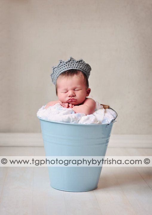 Royal baby in a bucket