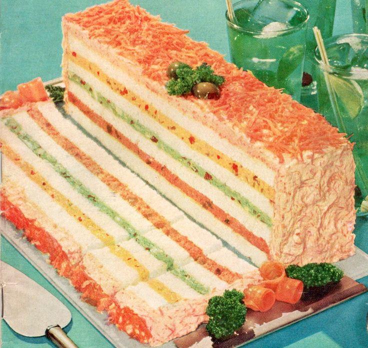 Smorgastarta Sandwich Cake Recipe