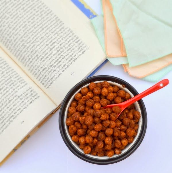 Happily Spiced: Crispy Spicy Chickpeas | Recipes: Snacks, Appitizers ...