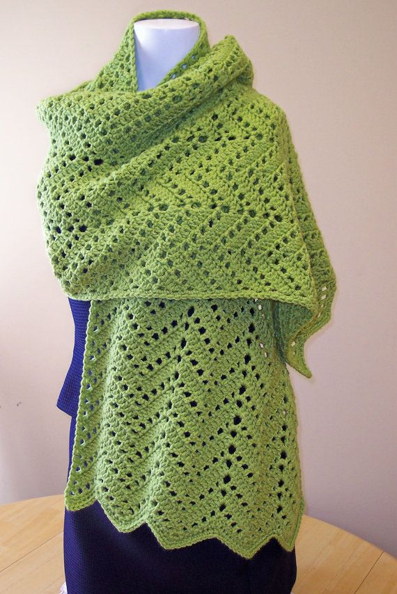Crochet Prayer Shawl by hendersonmemories on Etsy, $65.00