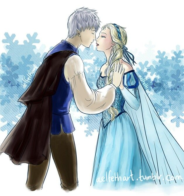 Romeo juliet style of jack frost dreamworks rise of the guardians and