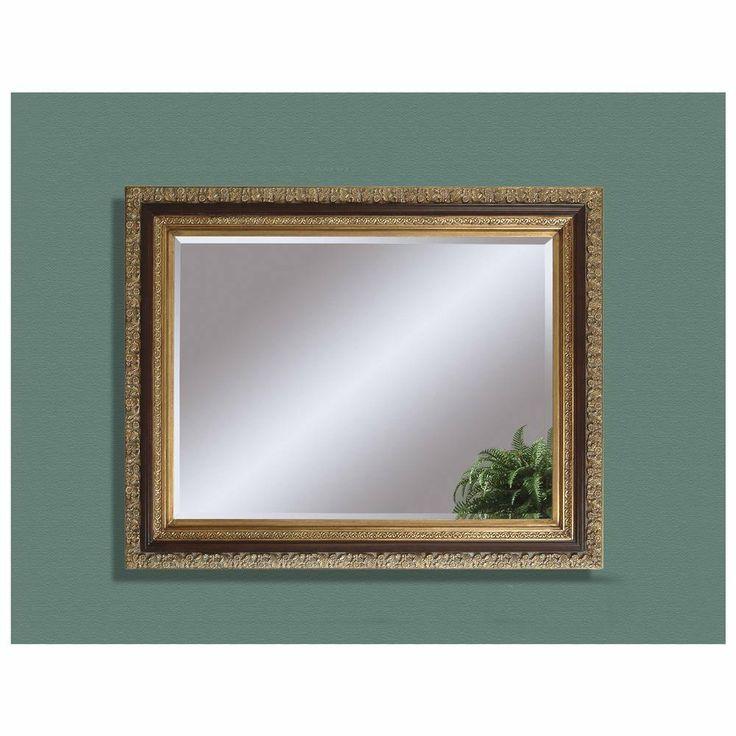 Eleganza Antique Gold Leaf Wall Mirror Bassett Mirror