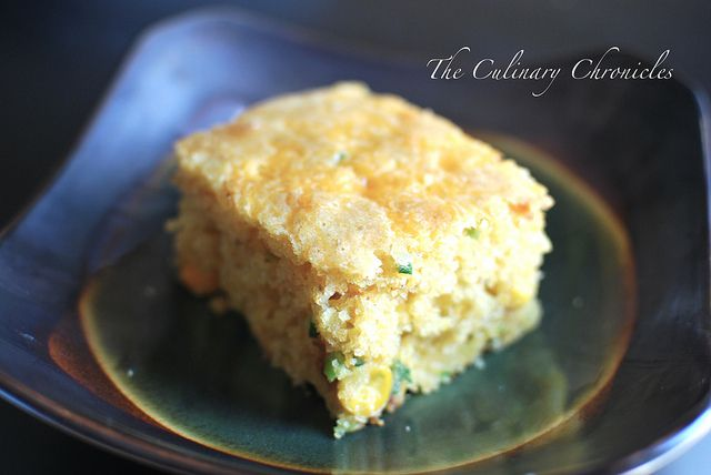 Jalapeño-Cheddar Skillet Cornbread by The Culinary Chronicles ...