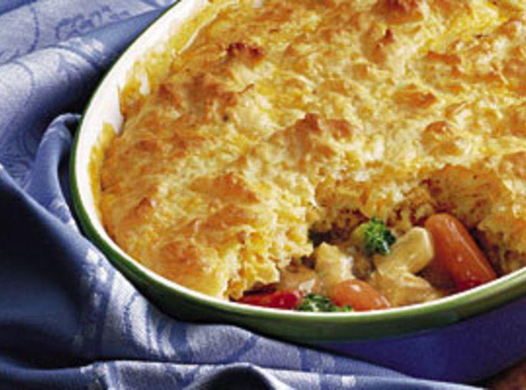 Impossible Chicken Pot Pie | Recipe