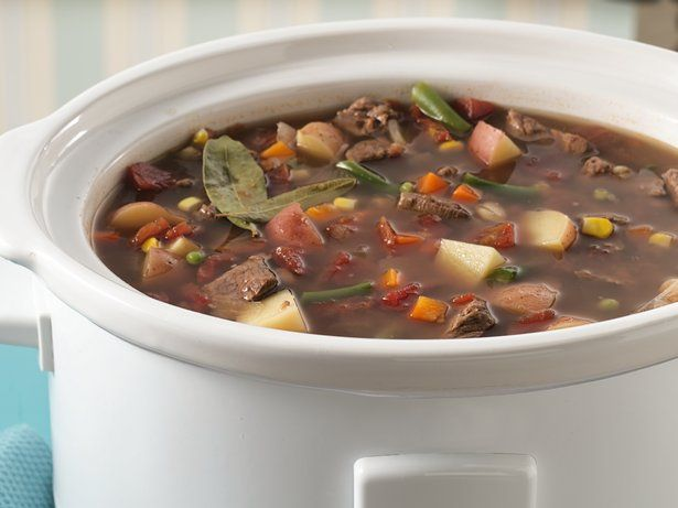 The Morgan Register: Slow-Cooker Vegetable Beef Soup