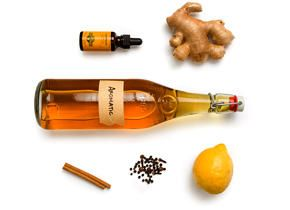 Aromatic Bitters - This recipe is made with a variety of ingredients ...