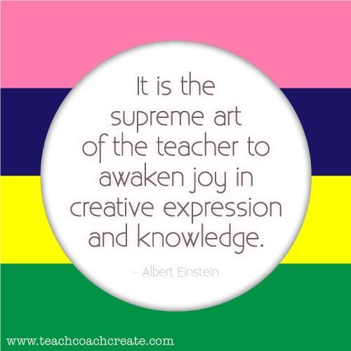 ... art of the teacher to awaken joy by Albert Einstein @ Like Success