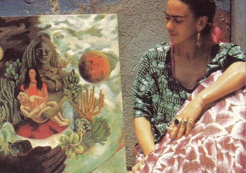frida kahlo love embrace What the water gave me - poems after frida kahlo fifty poems by pascale petit published by seren in june 2010  whenever we make love, you say.