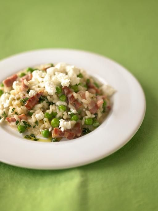 green pea & goat's cheese risotto | Jamie Oliver | Food | Jamie ...