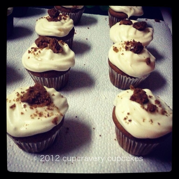 cupcakes | ginger pumpkin cupcakes with ginger cream cheese frosting ...