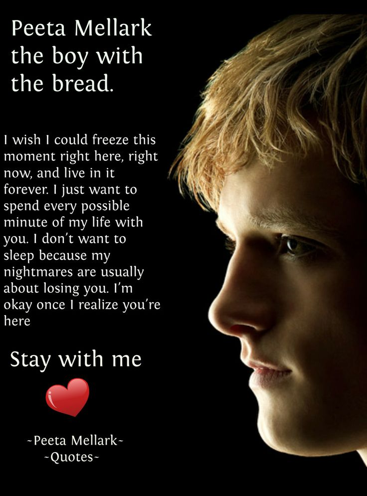Peeta Quotes♥