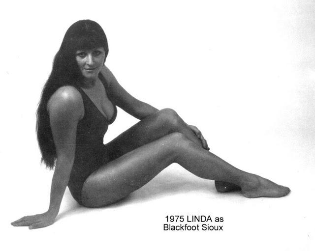 Female Wrestler Miss Linda aka Blackfoot Sioux in England