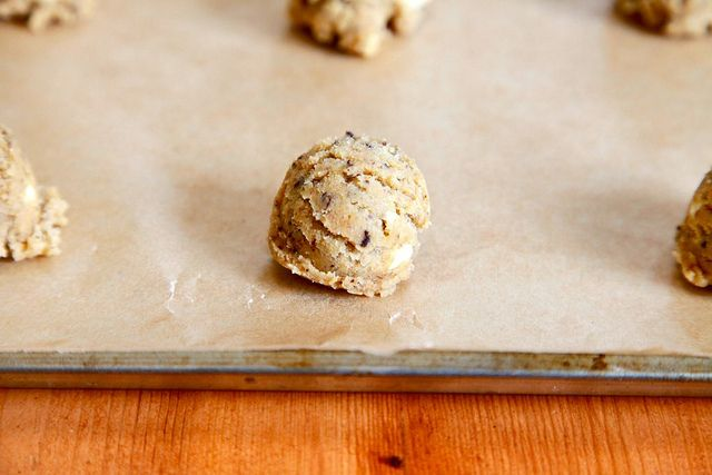 Cappuccino Cookies with espresso and white chocolate