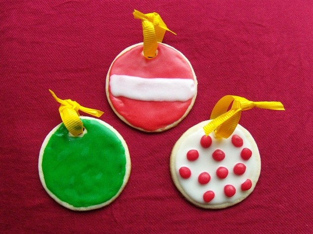 Christmas Tree Ornament Cookies | Recipe