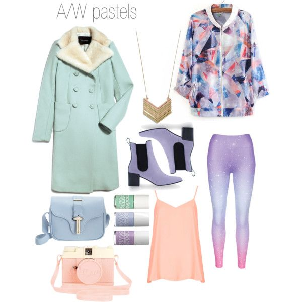"""Fall pastels"" by amygardiner on Polyvore"