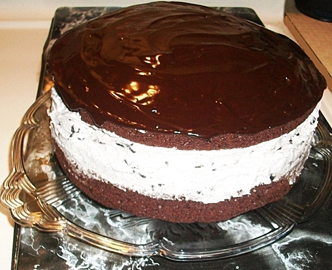 OREO Cookie Cake Recipe | Recipes - Sweet Bites | Pinterest