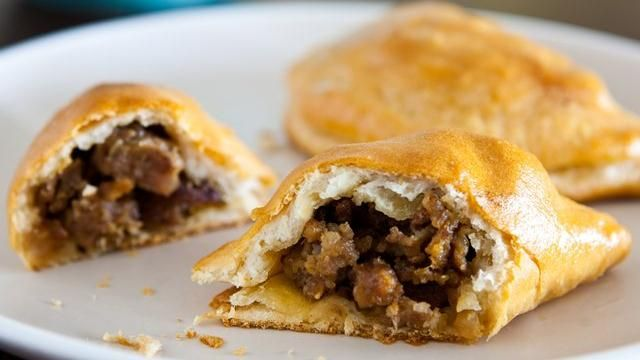 Apple and Sausage Mini Hand Pies | Recipe