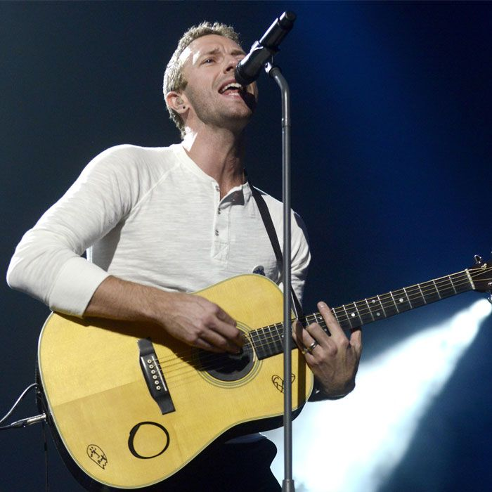 Chris Martin Blames Himself for Conscious Uncoupling
