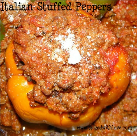 Italian Style Stuffed Peppers | My recipes | Pinterest
