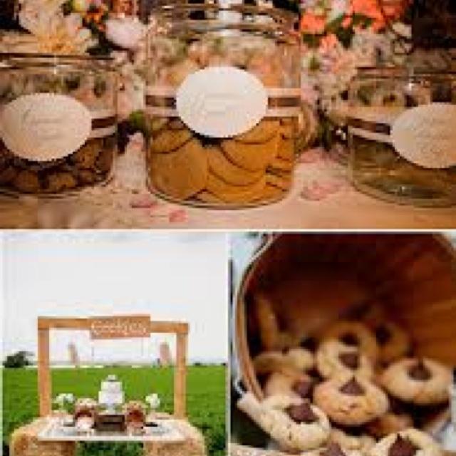 Cookie bar | Countdown To Wedding | Pinterest
