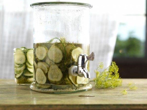Homemade Kosher Dill Pickles - http://www.jellypin.com/homemade-kosher ...