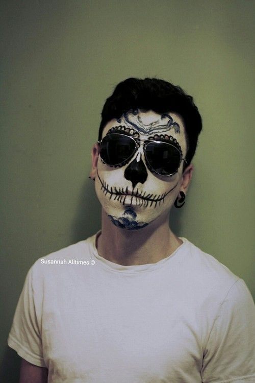 sugar skull male halloween pinterest