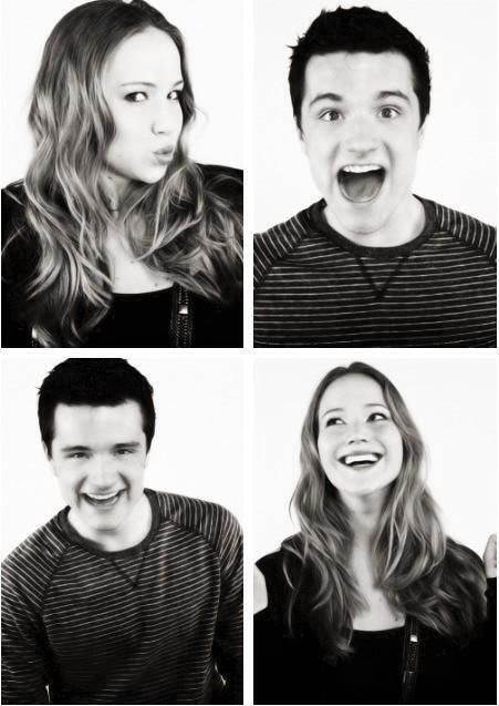 jennifer lawrenceJosh Hutcherson And Jennifer Lawrence Together
