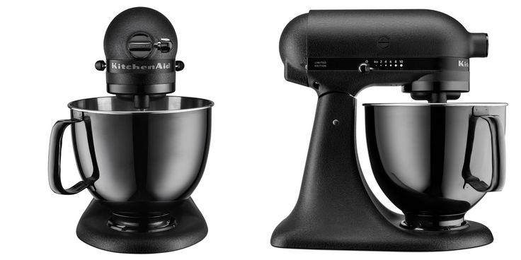 KitchenAid Just Debuted an All-Black Mixer — And OMG, Its Chic