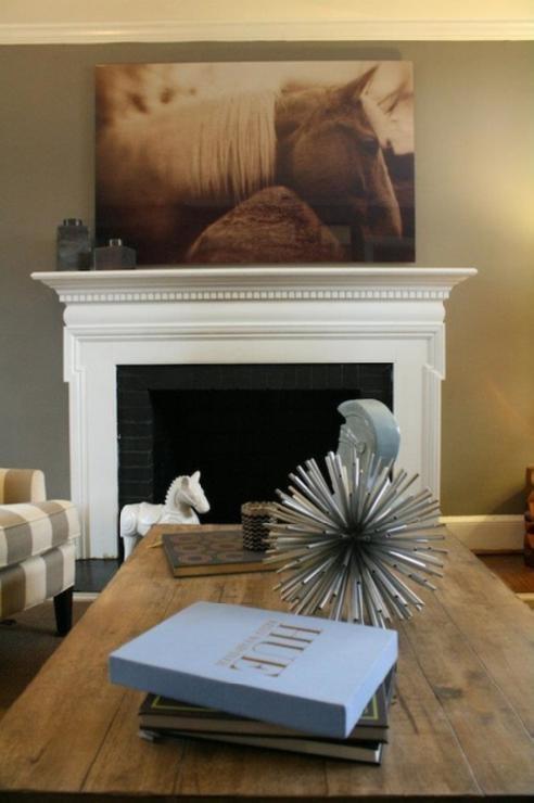 Warm Gray Walls Living Room Home Makeover Pinterest