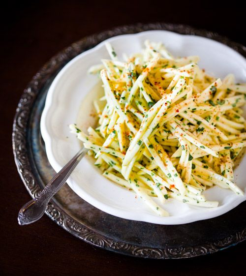 Raw celery root salad | Savoury Deliciousness | Pinterest