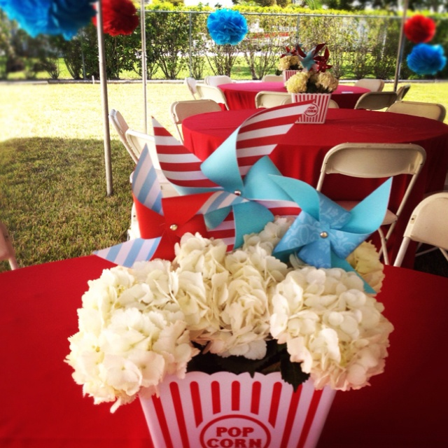 Pin by amy westerman on 4th grade banquet pinterest - Carnival themed baby shower ideas ...