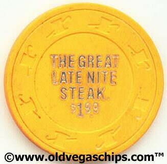 Old school Vegas veterans will know exactly what I'm talking about here!  The Late Night Steak at the Nugget!