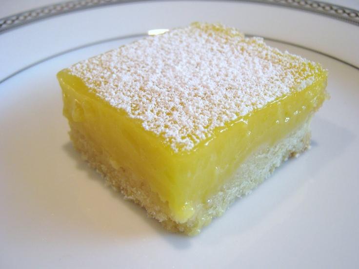 Lemon squares - one of my favorite treats!