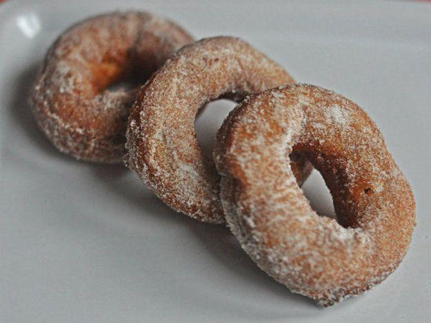 Pumpkin Spice Doughnuts   food & drink   Pinterest