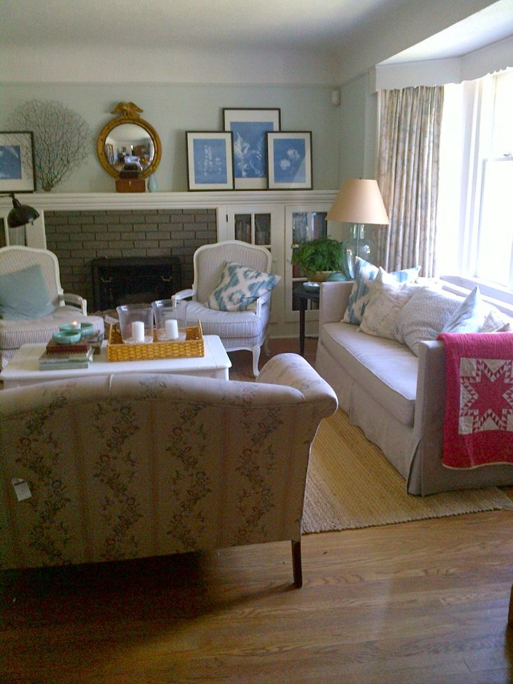 Furniture Arrangement Our Living Room Pinterest