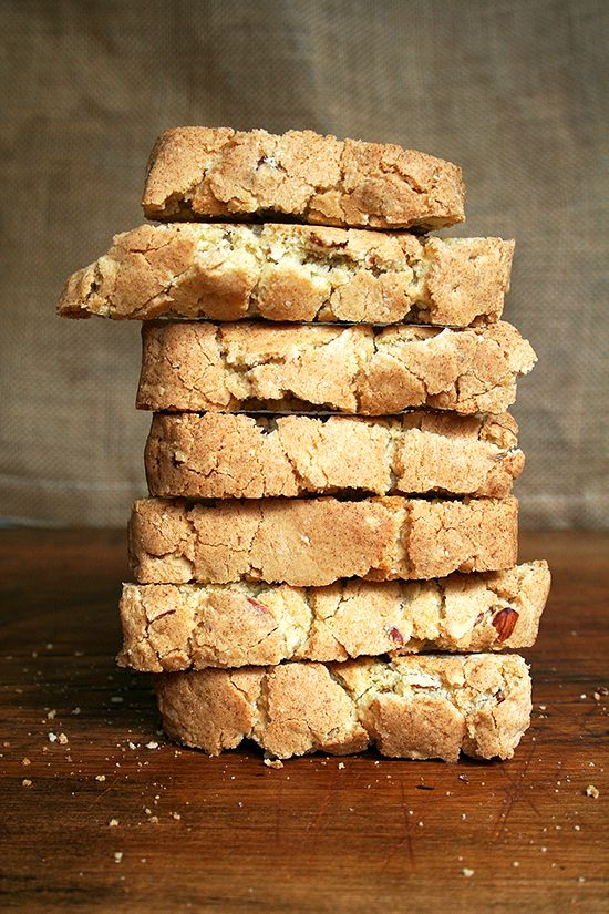 Homemade Biscotti, Granola, Salted Oatmeal Cookies and Honey Whole Wh ...