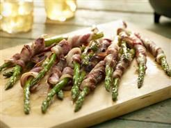 GRILLED BACON MUSTARD ASPARAGUS | Veggies of Every Kind | Pinterest