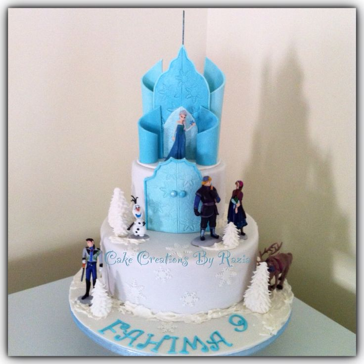 Images Of Frozen Castle Cake Dmost for