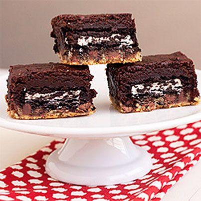 Slutty Brownies | Squares | Pinterest