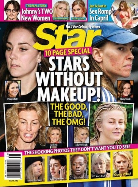 Stars Without Makeup, The Good, The Bad and The OMG!