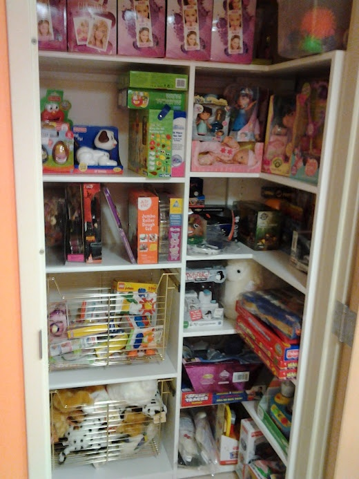 Kosair toy closet dream home pinterest Closet toy storage ideas