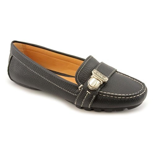 Coach Pauleen Loafers Shoes Black Womens   Shoes Deliver